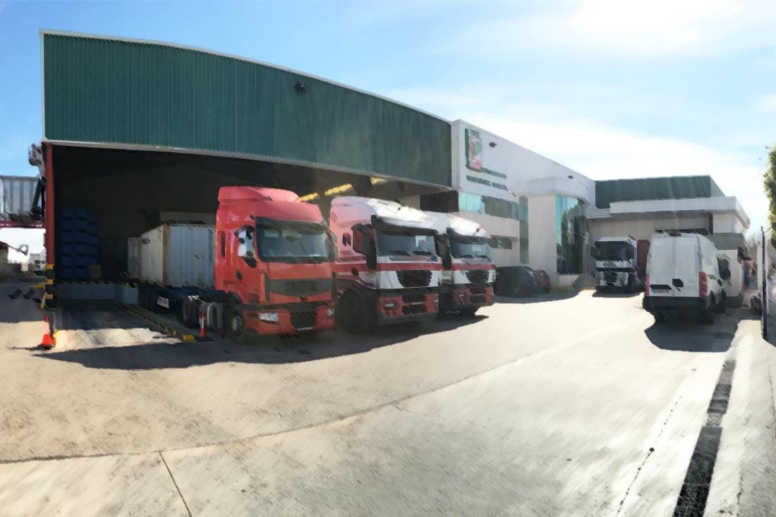 Muelles de carga en 16 Aniversario CMG